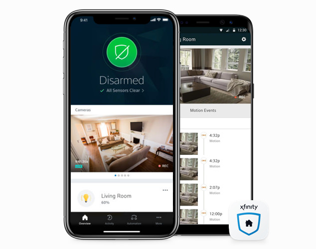 Half image home security mobile - aps