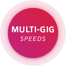 Multi gig speeds badge