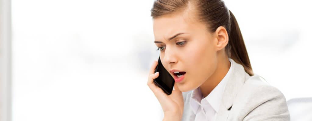 llamadas telefónicas no deseadas