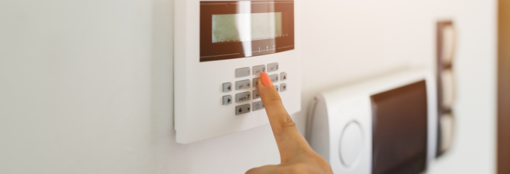 arming your home security system