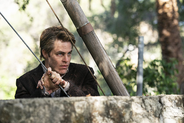 Chris Pine TNT Miniseries