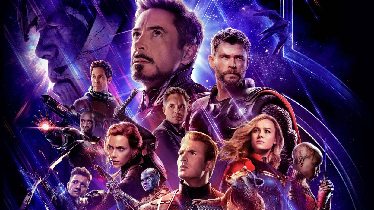 Avengers Endgame Cover Art