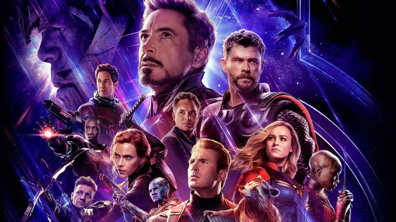 Avengers Endgame Cover Art