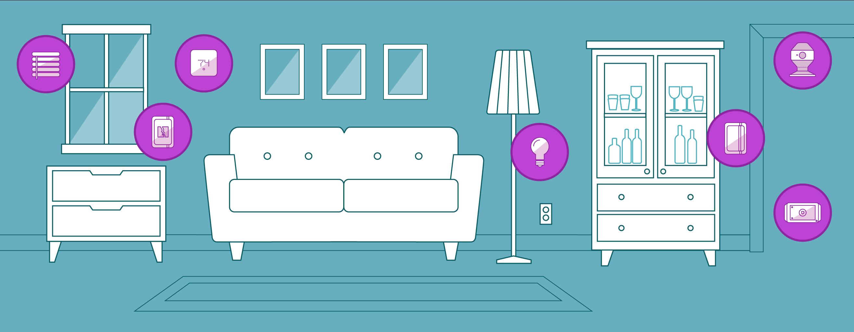 Xfinity Home Sala de estar