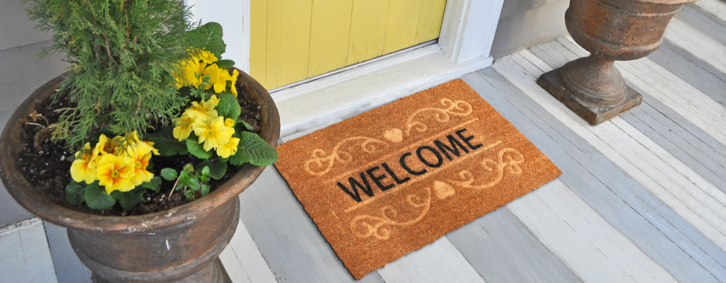 Front Door Welcome Mat