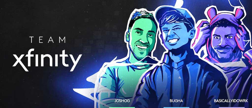 Imagen promocional del equipo Xfinity
