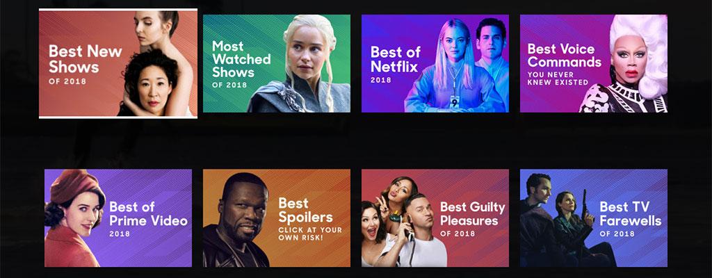 lo mejor de la tv en 2018