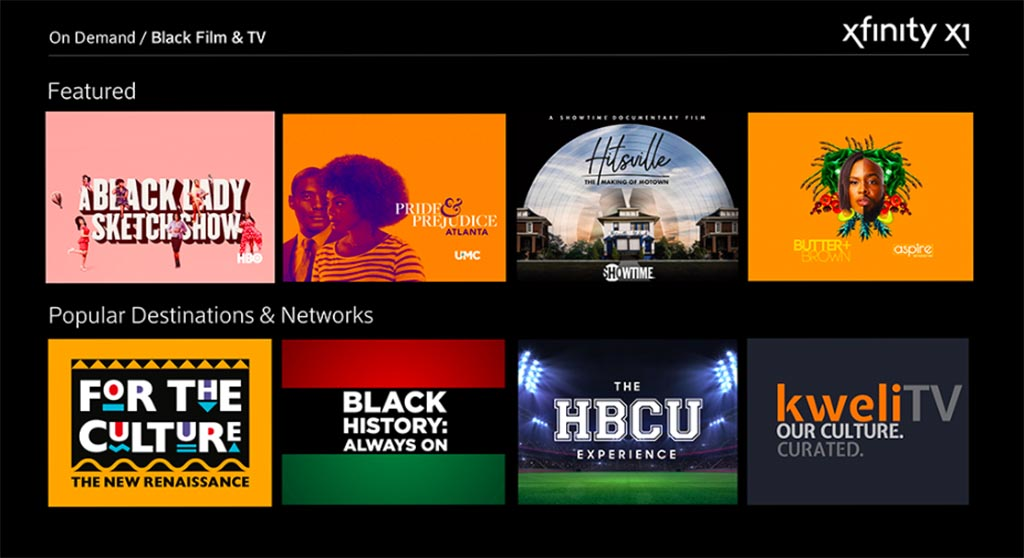 Black Film & TV Destination on X1