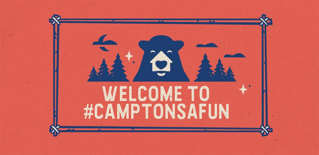 Camp Tonsafun on Xfinity X1 and Xfinity Flex Logo