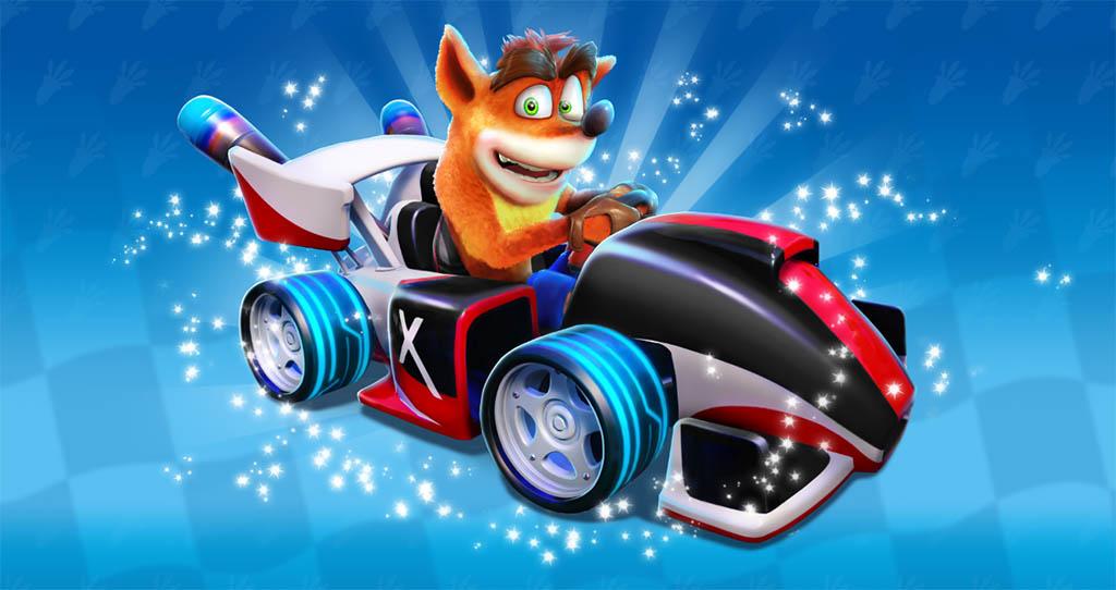 Crash Team Racing Xfinity Flash Kart
