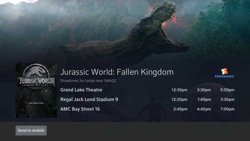 fandango jurassic world fallen kingdom ticket ordering on x1