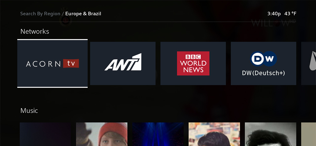 international tv europe and brazil