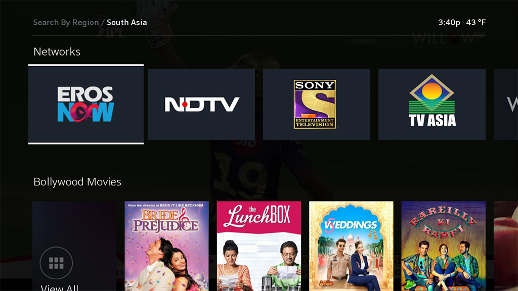 international tv south asia