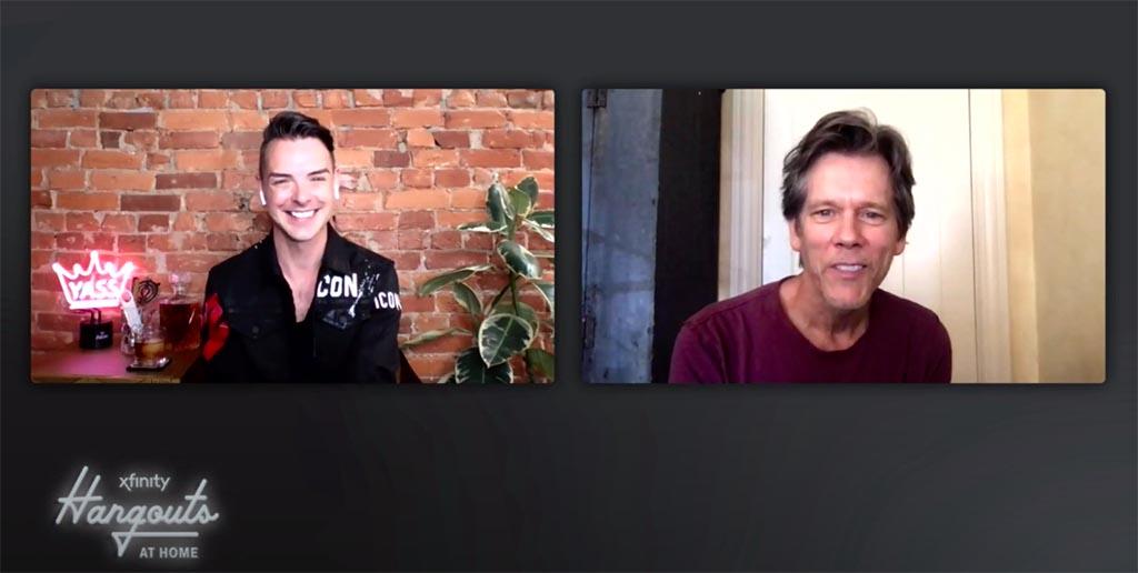 Scott conversa virtualmente con Kevin Bacon