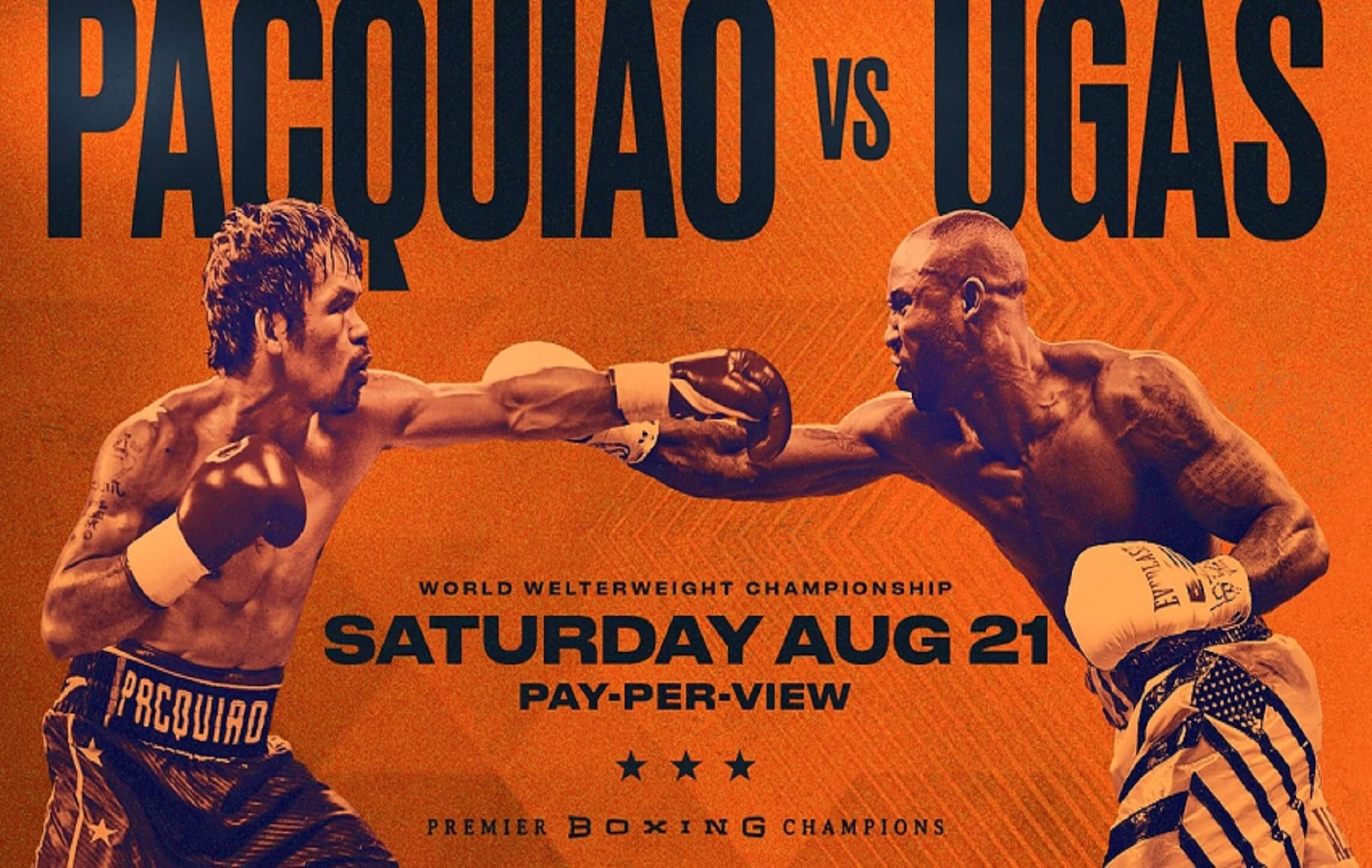 Manny Pacquiao vs. Ugas Pay Per View | Watch with Xfinity