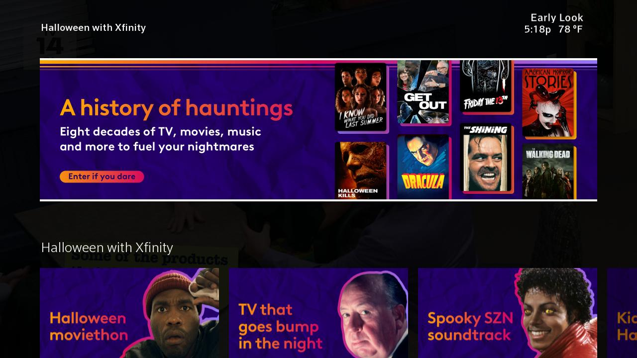 Halloween en Xfinity Flex