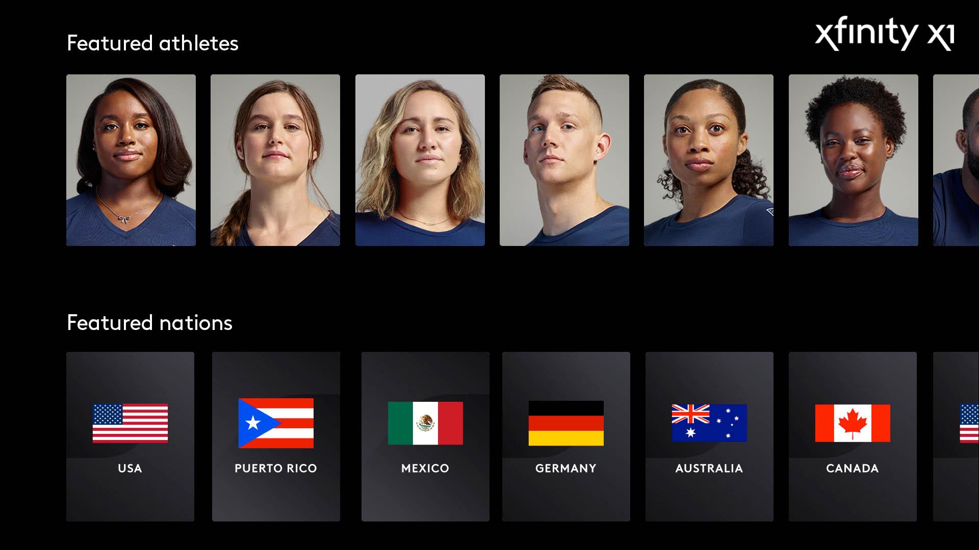 Team USA y los Juegos Olímpicos de Tokio 2020 en Xfinity X1