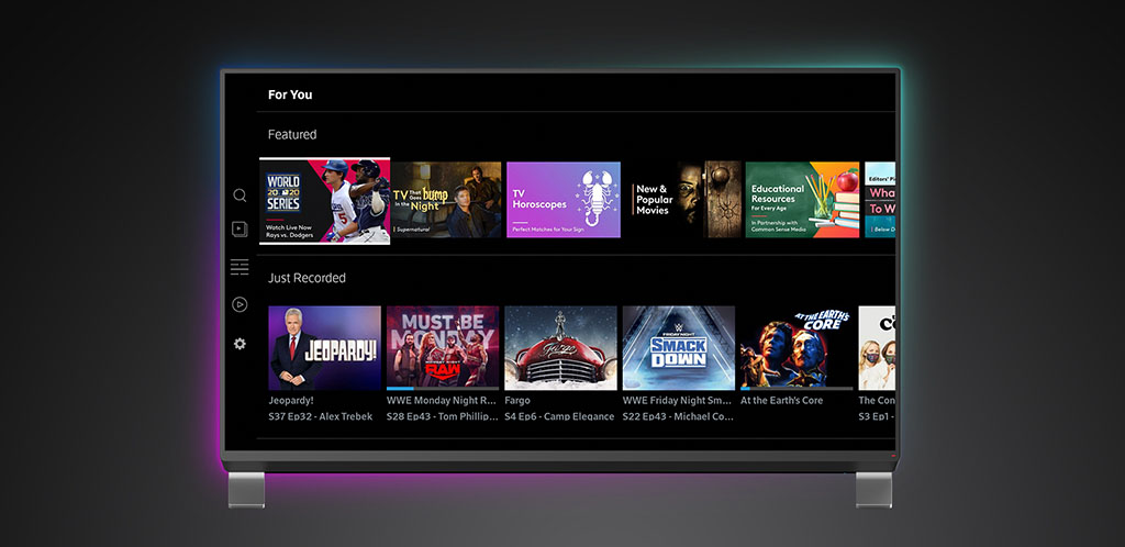 Haz streaming en Amazon Fire TV UI