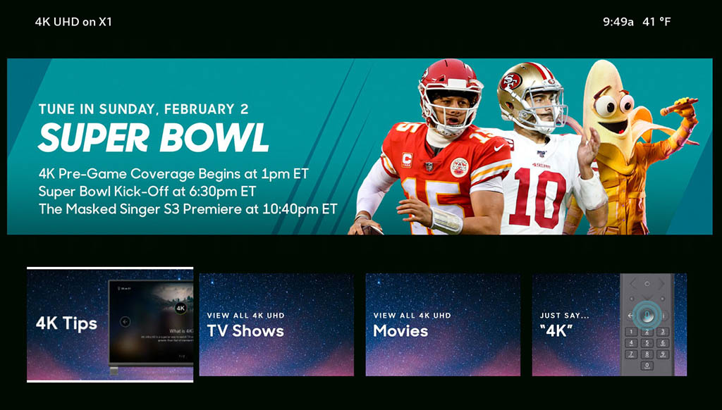 Super Bowl LIV en X1
