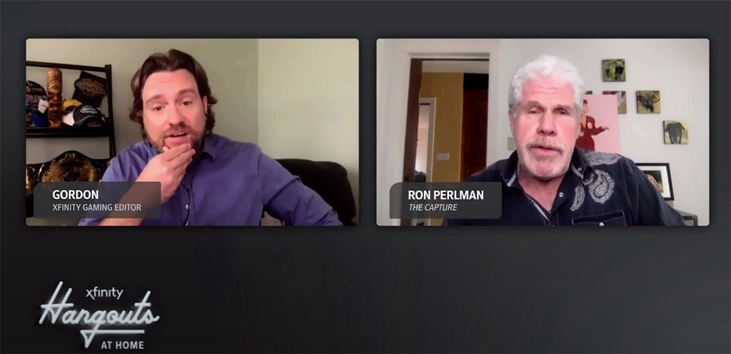 Gordon Virtually Hangs Out with Ron Perlman of