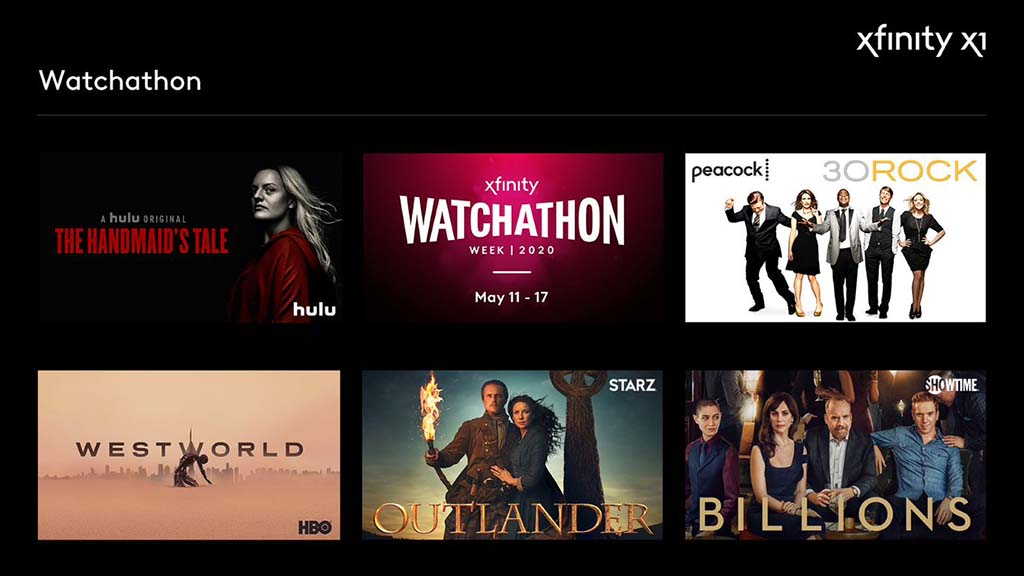 Watchathon Week 2020 on X1