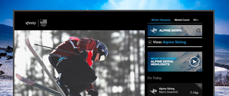 Never miss a moment of Team USA at the Olympic Winter Games with sports on X1