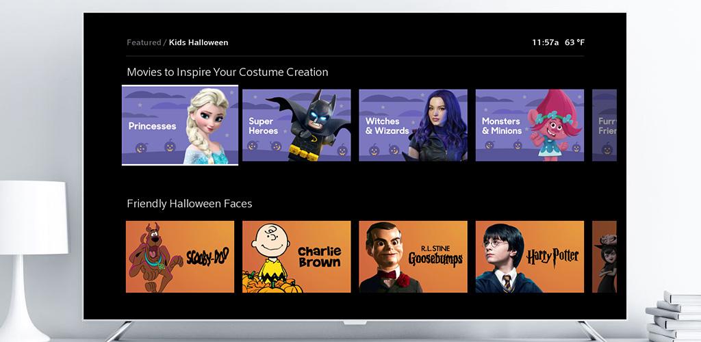 Xfinity X1 Disfraces de Halloween