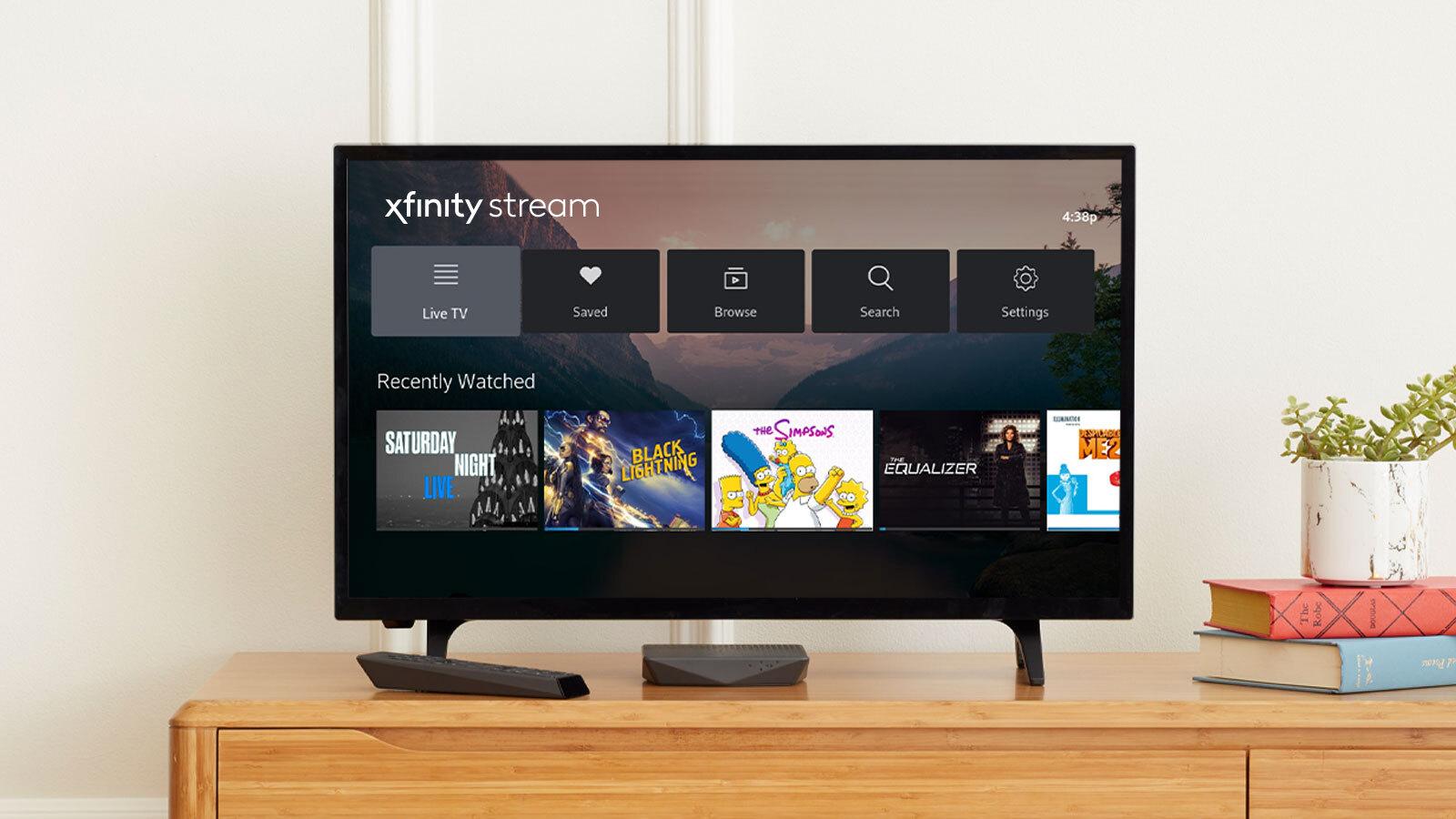 Haz streamingenXfinity Flex UI