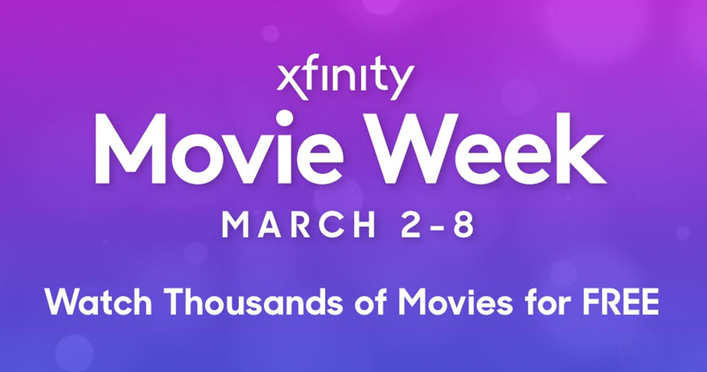 Xfinity Movie Week 2020