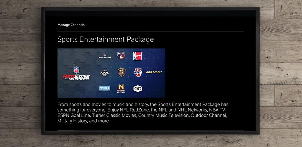 Paquete Sports EntertainmentUI de Xfinity
