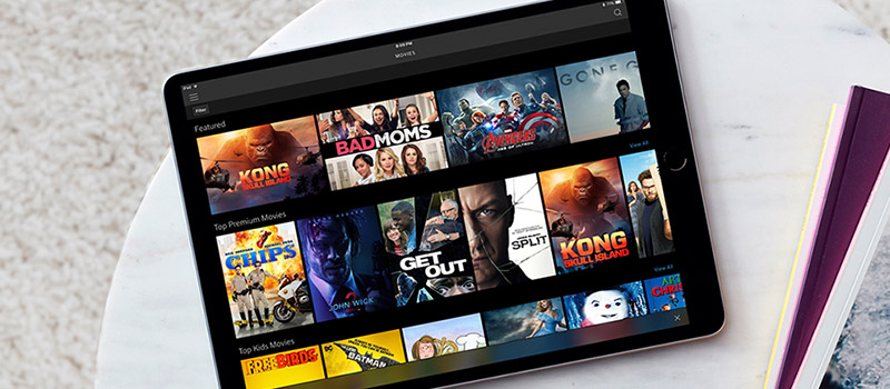 tableta con xfinity instant tv