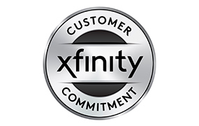 xfinity customer commitment logo