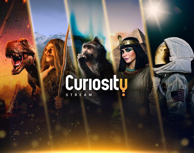 Mitad de imagen haciendo streamingde SVOD Curiosity