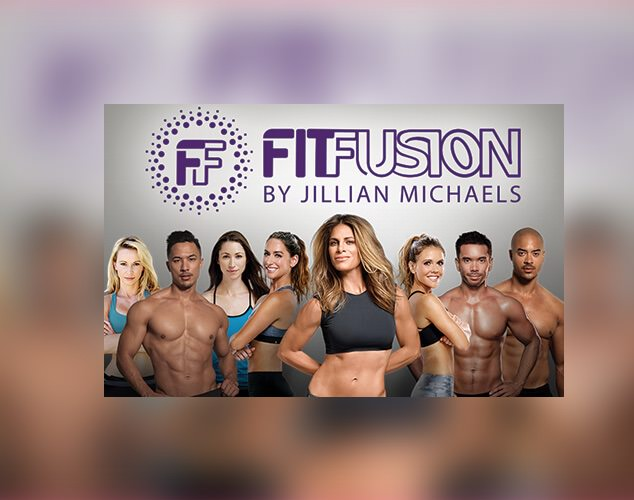 Fit Fusion logo above fit people