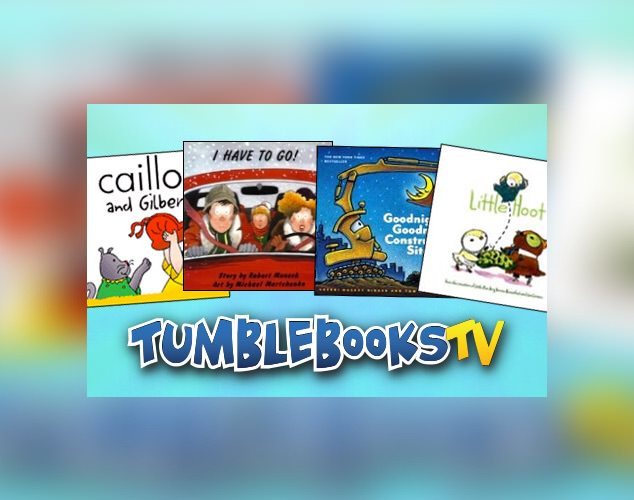 Tumble Books TV logo
