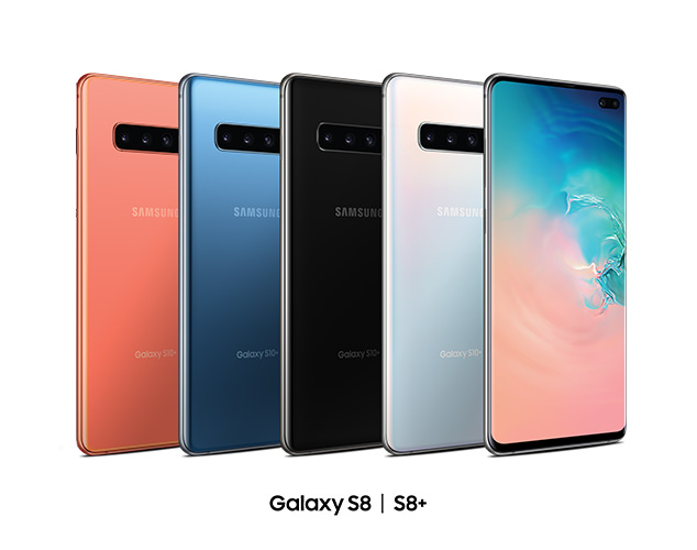 Galexy S8 and S8+