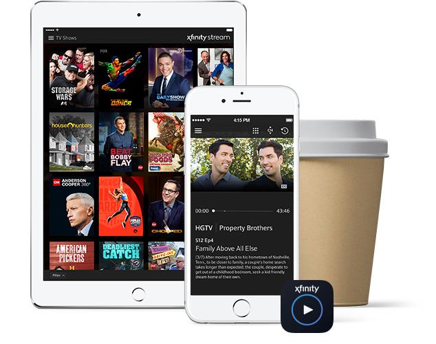 Tableta, smartphone y taza de café
