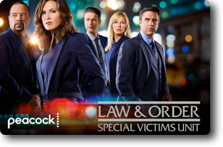Law and Order SVU show on Peacock