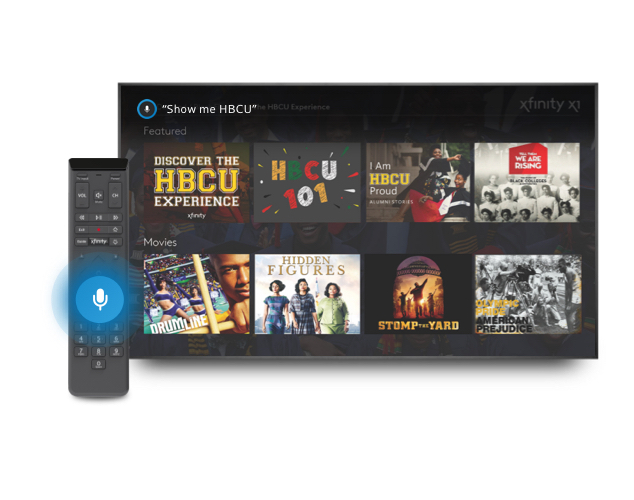 TV with Voice Remote and HBCU channels