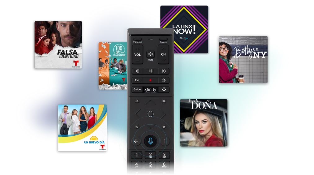 TV Shows available through Xfinity Voice Remote