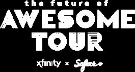 Logo del tour El futuro de lo asombroso