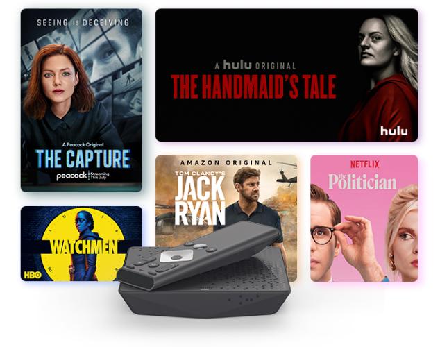 Shows en Peacock, Hulu, Amazon Prime, HBO y Netflix