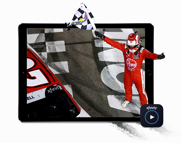 Streaming Nascar on Xfinity