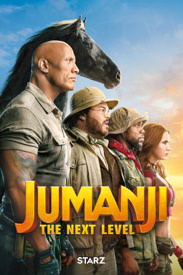Jumanji: The Next Level en Starz
