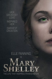 póster de mary shelley