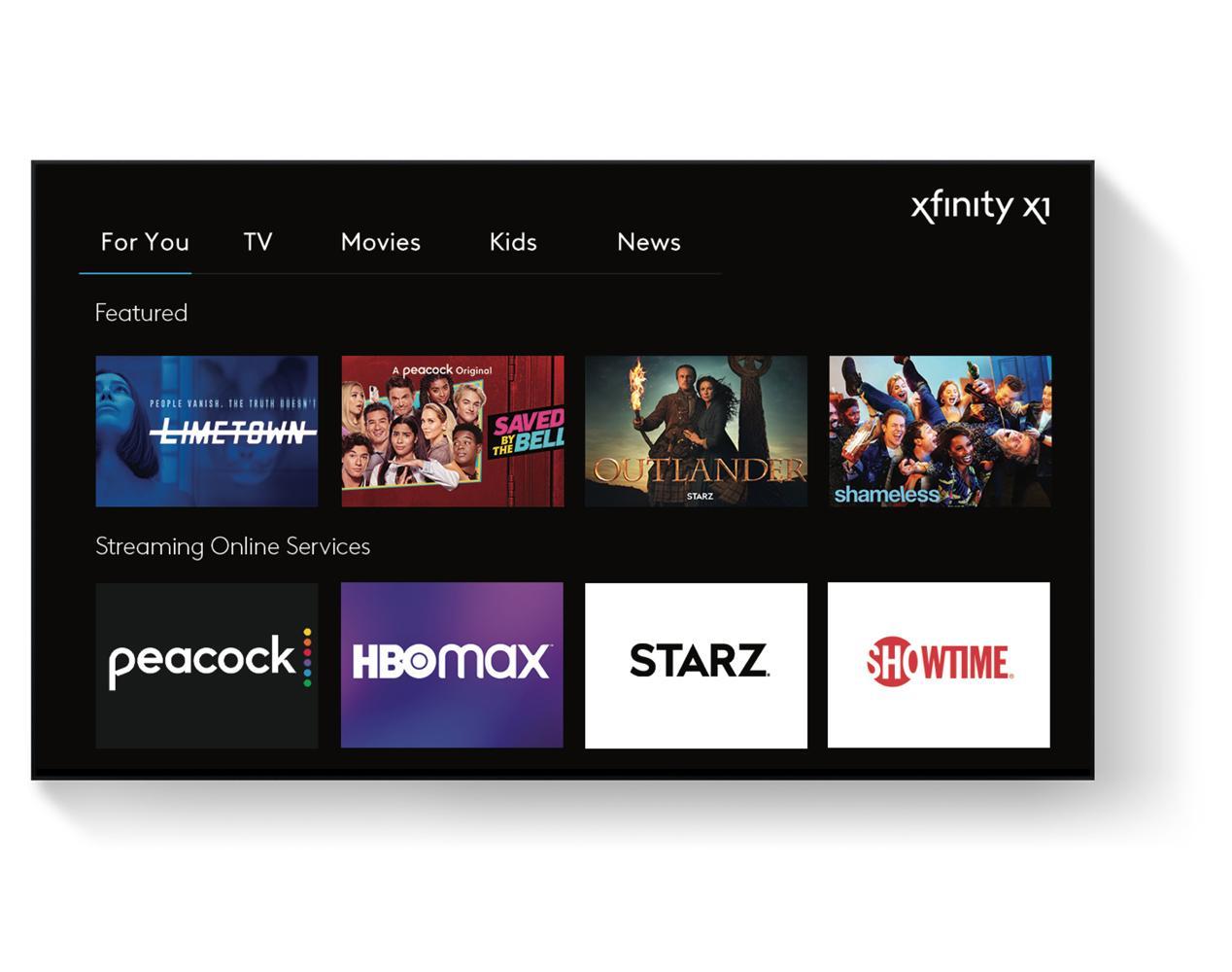 Xfinity X1 en TV