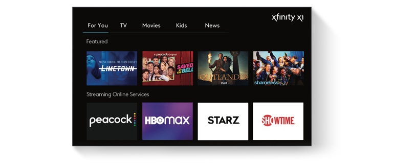 Xfinity X1 on TV Mobile