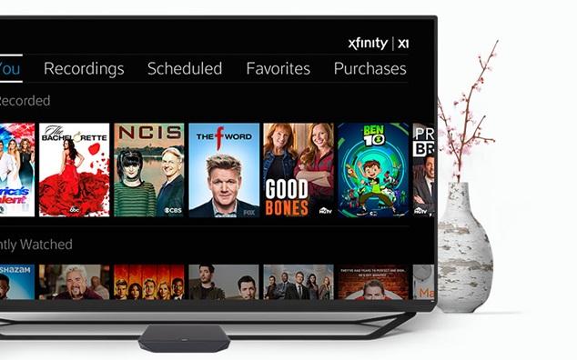 Equipo de XFINITY X1 para DVR Mobile