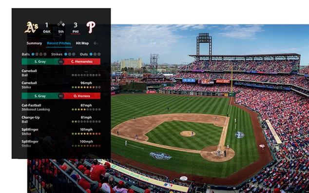 XFINITY X1 Sports Baseball Mobile