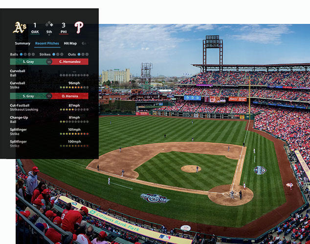 XFINITY X1 Sports Baseball